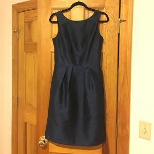 Timeless Navy Blue Cocktail Dress